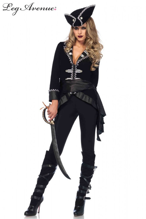 Pirate Seven Seas Beauty Womens Costume