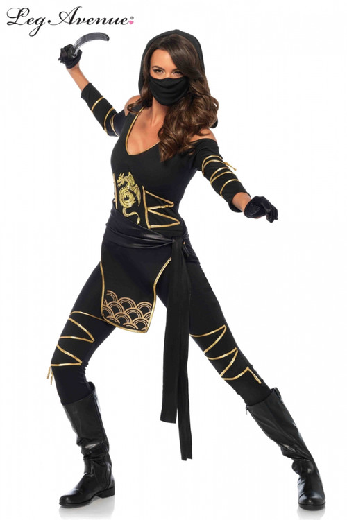 Stealth Ninja Womens Costume