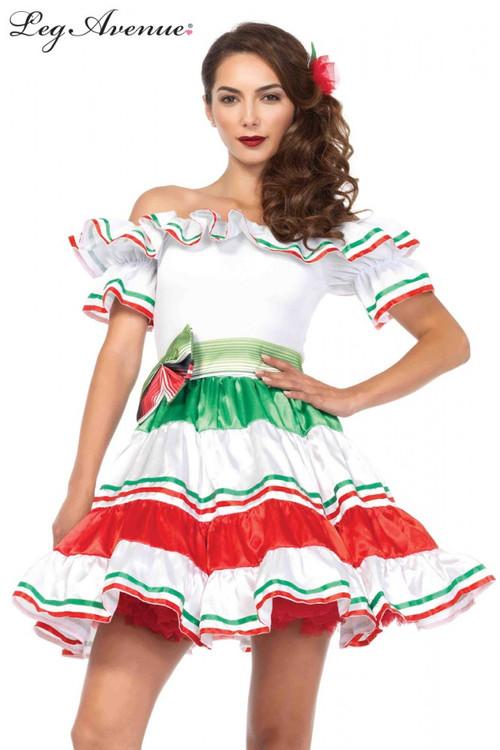 Sultry Senorita Womens Costume