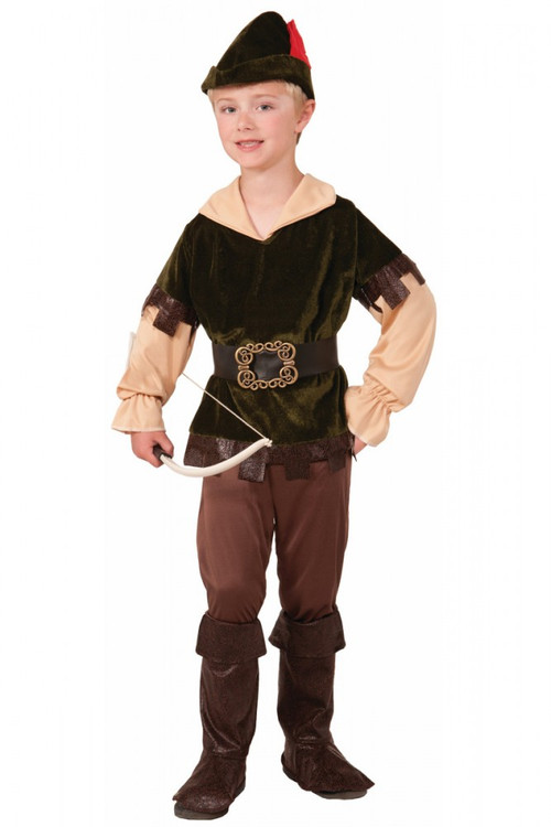 Robin Hood Archer Woodsman Boys Costume