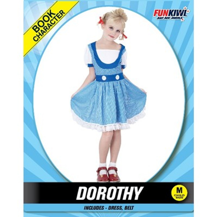 Dorothy Girls Costume