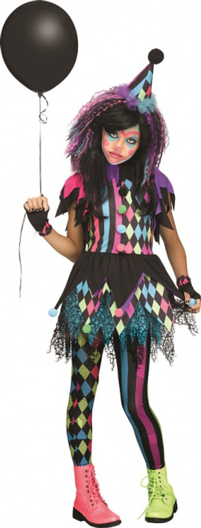 Circus Twisted Tween Girls Costume