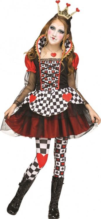 Queen of Hearts Teen Girls Costume
