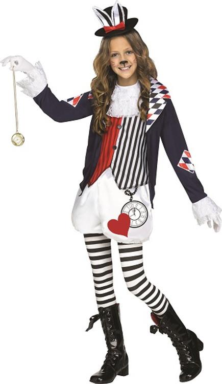 Cotton Tail Crazy Rabbit Tween Girls Costume