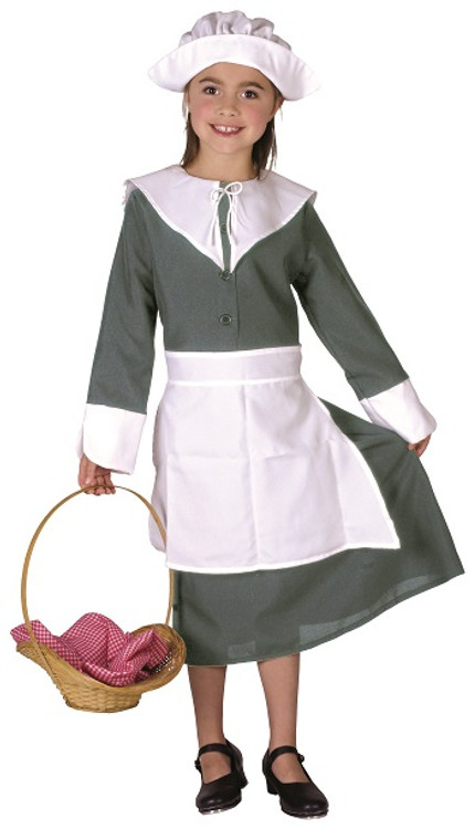 Colonial Girl Kids Costume