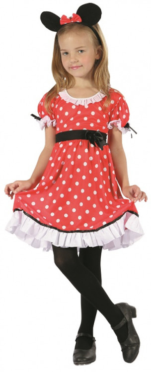 Minnie Mouse Girl Kids Costume