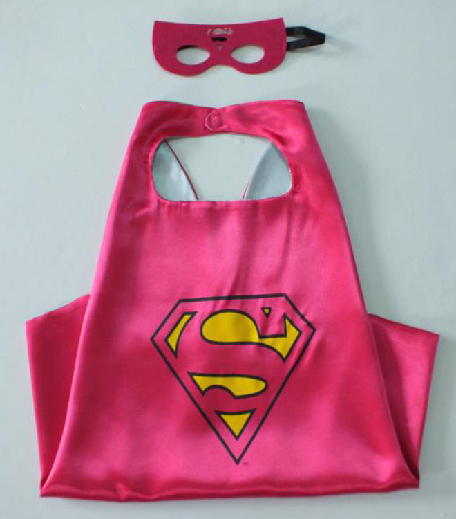 Supergirl Superhero Cape & Mask