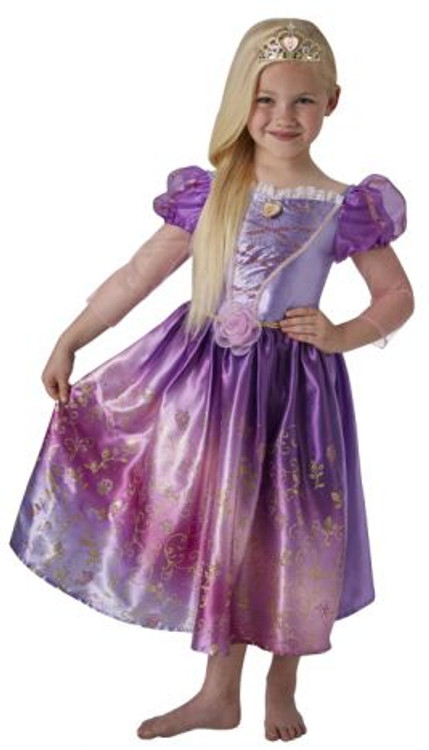 Rapunzel Rainbow Girls Costume