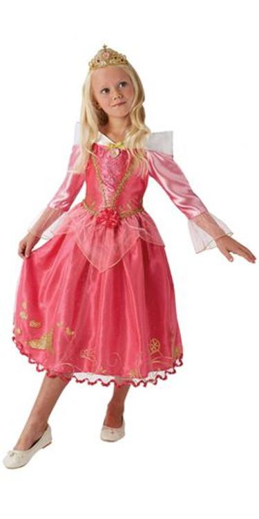Sleeping Beauty Aurora Storyteller Girls Costume