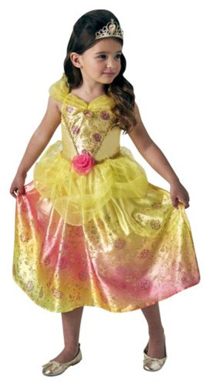 Belle Rainbow -  Beauty and the Beast Disney Girls Costume