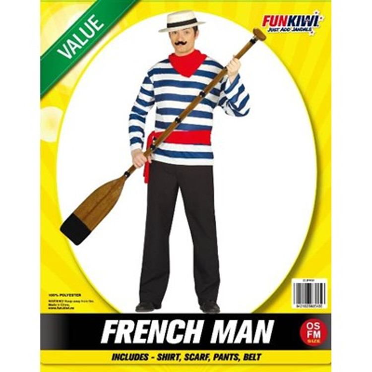 Frenchman Adult Costume