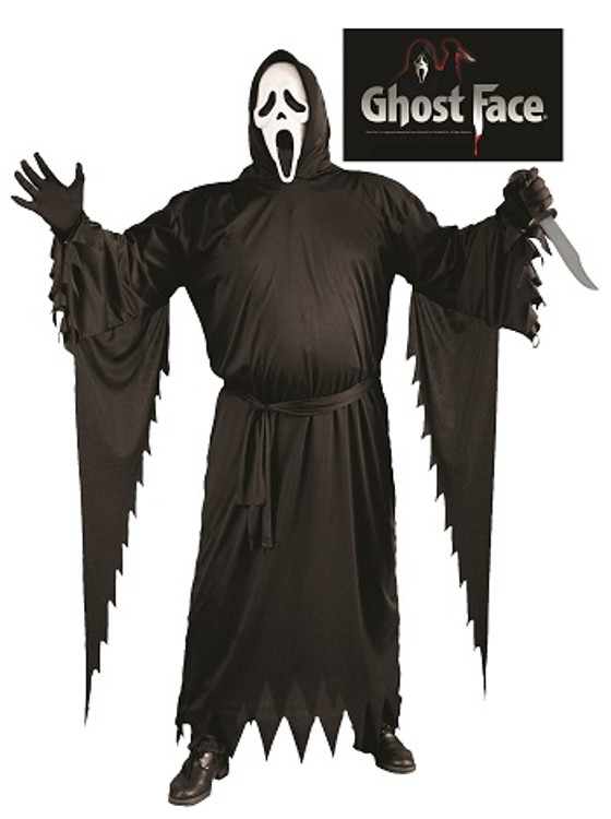 Scream Ghost Face Adult Costume - Plus