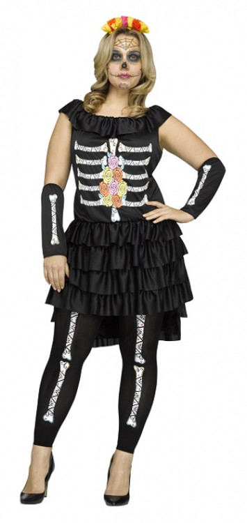 Day of the Dead - Adult Plus Size