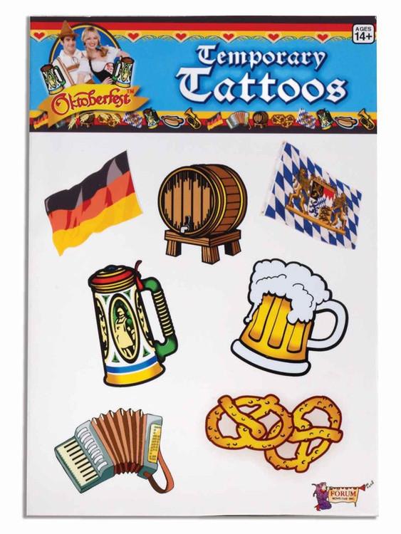Oktoberfest Temporary Tattoos