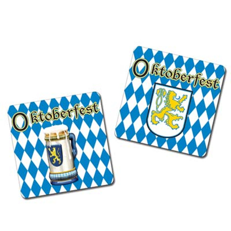 Oktoberfest - German Drink Coasters