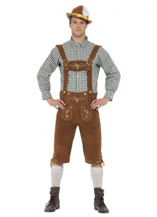 Oktoberfest Traditional Deluxe Hanz Bavarian Costume