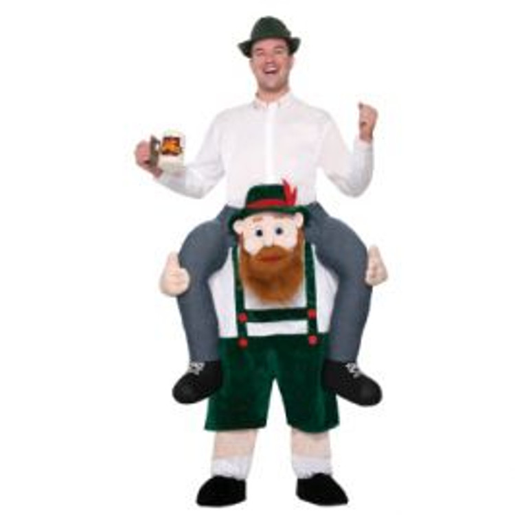 Beer Buddy Piggy Back Adult Costume