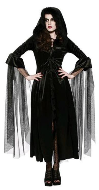 Mistress of Midnight Womens Costume