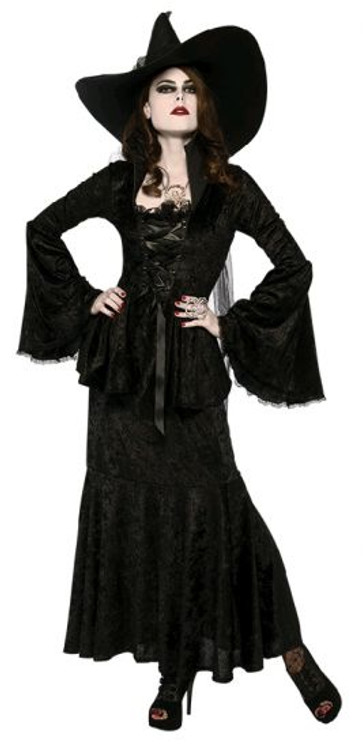 Halloween Velvet Mermaid Skirt