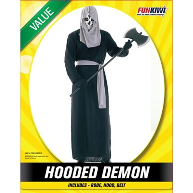 Hooded Demon Adult Costume