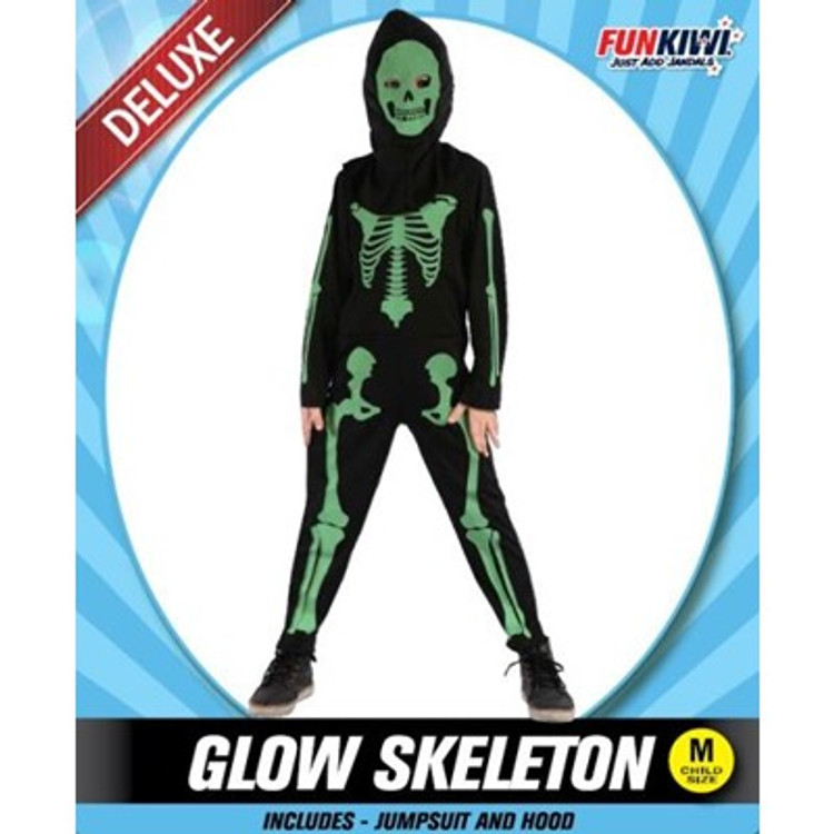 Skeleton Glowing Kids Costume