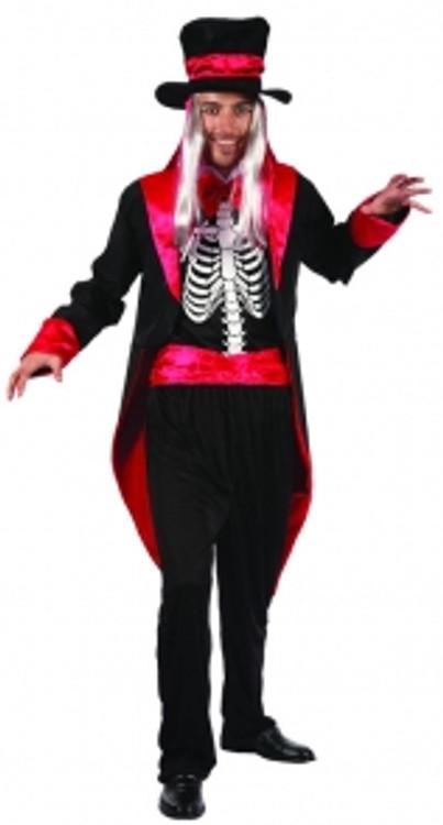 Skeleton Gentleman - Adult - Medium