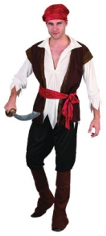 Pirate Man - Adult - Large