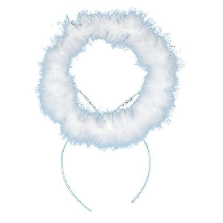 Angel Halo Headband - White
