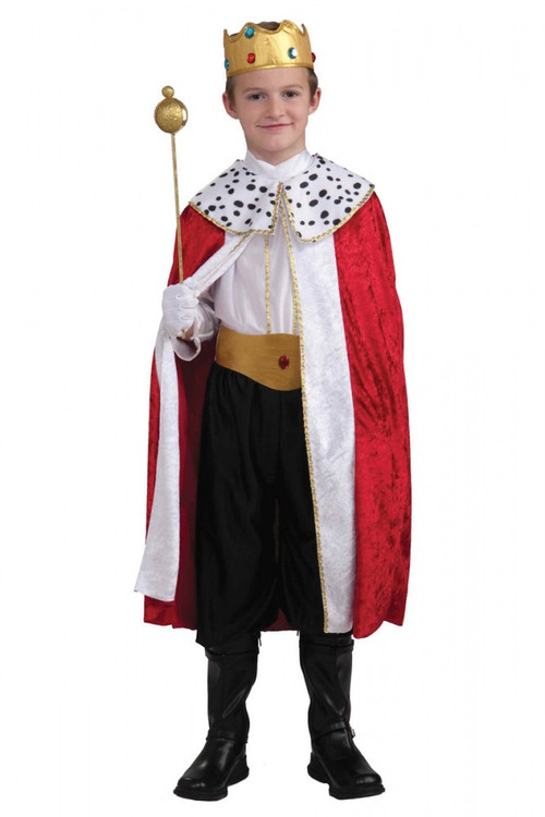 Regal King Costume Child