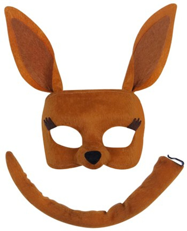 Kangaroo Animal Mask Set
