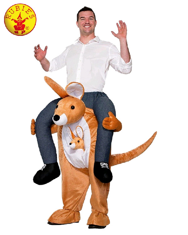 Kangaroo Piggy Back Adult Costume