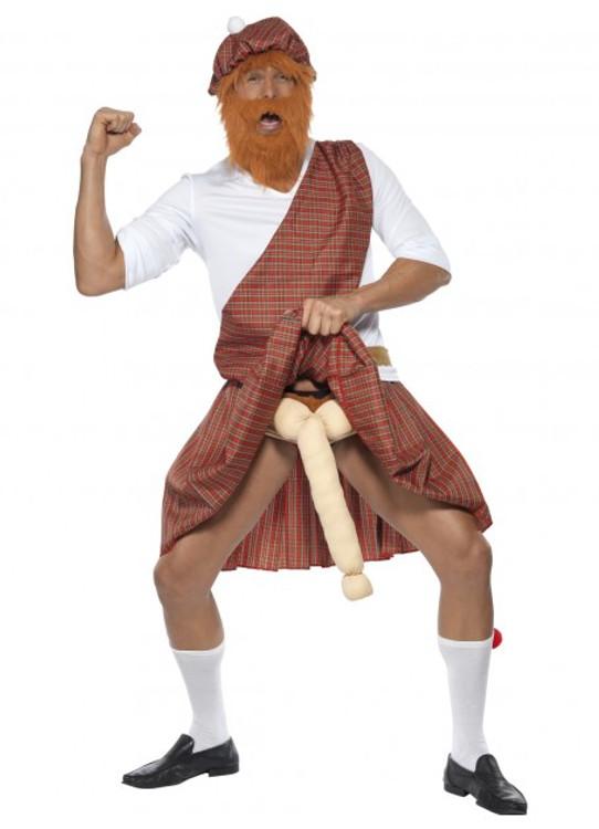 Well Hung Highlander Adult Costume