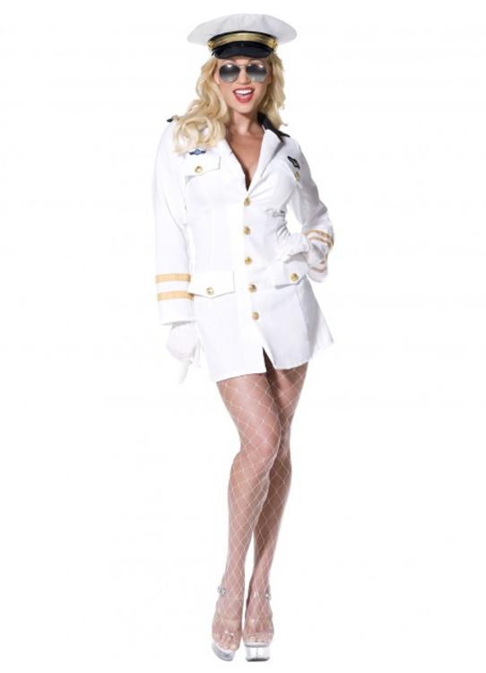 Top Gun Officer Womens Costume