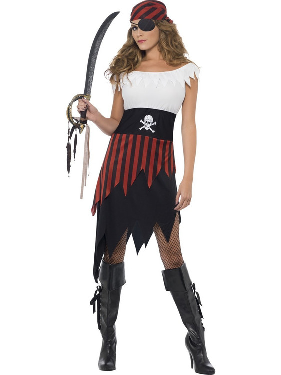 Pirate Wench Womans Costume