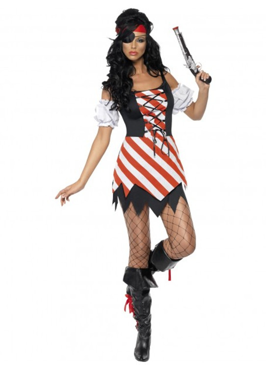 Pirate Fancy Dress Women's Costume