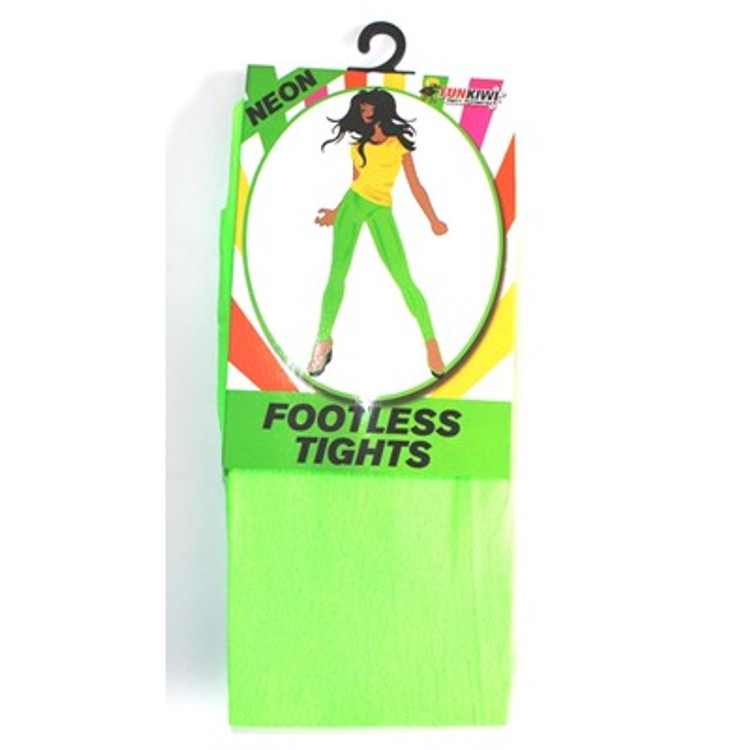Footless Tights, Green Neon