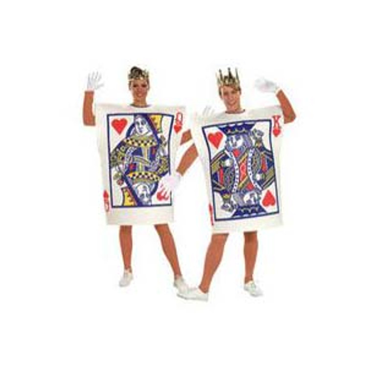 KING OF HEARTS CARD MENS COSTUME