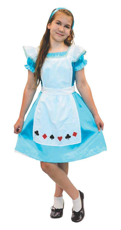 Alice in Wonderland Tween Girls Costume