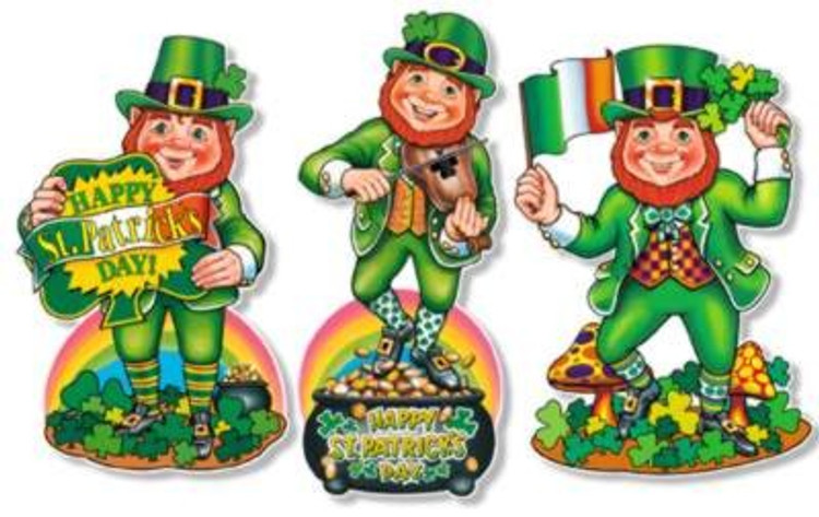 St Patricks Day Cut Leprechaun Outs
