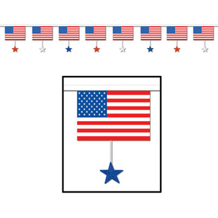 American Banner Flags & Stars