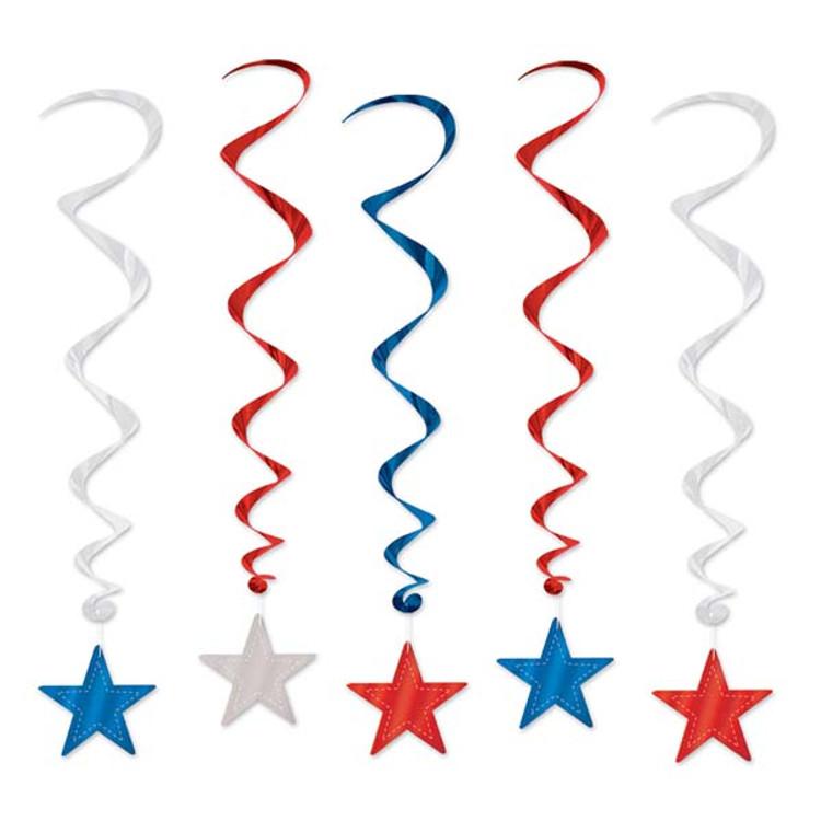 American Partiotic Star Whirls