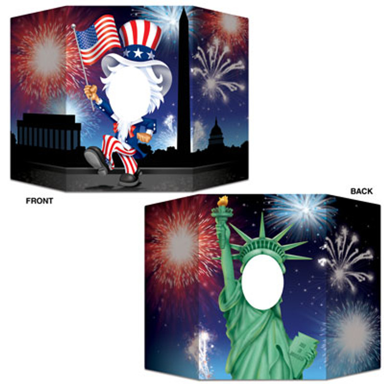 American Patriotic Photo Prop
