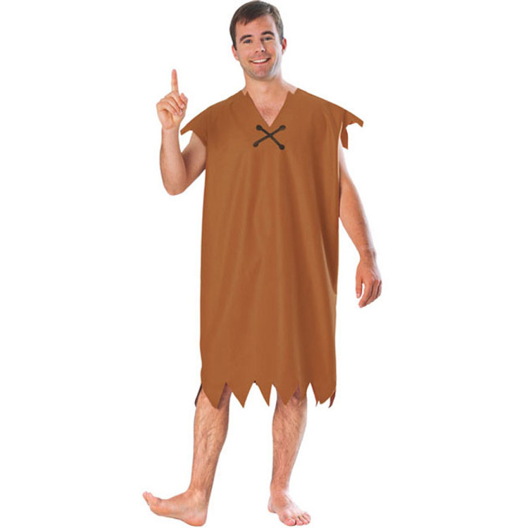 Barney Rubble Mens Costume