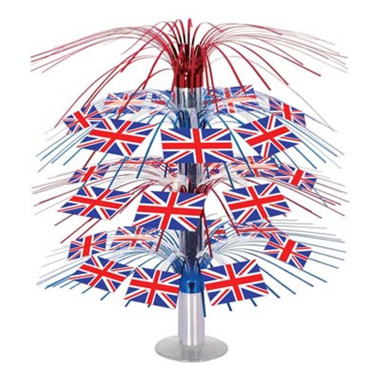 British Flag Cascade Centrepiece