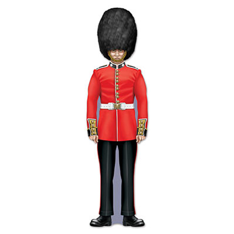 British Royal Guard Cut Out