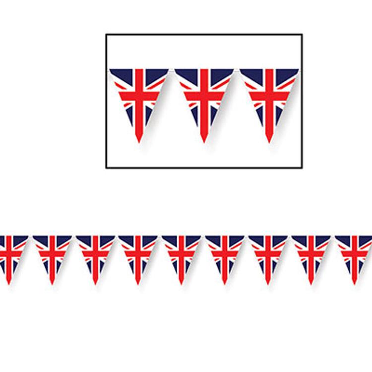 British Union Jack Pennant Banner