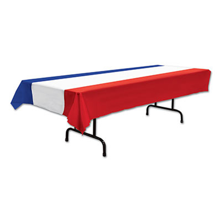 Tablecover - Rectangle Red, White & Blue