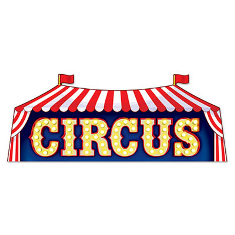 Circus Sign Cut Out