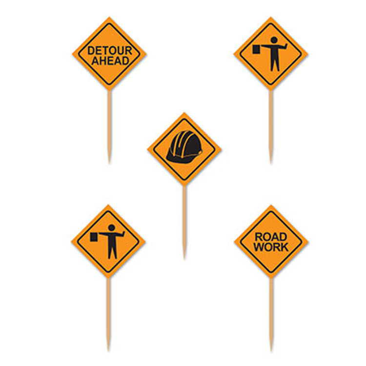 Construction Sign Picks