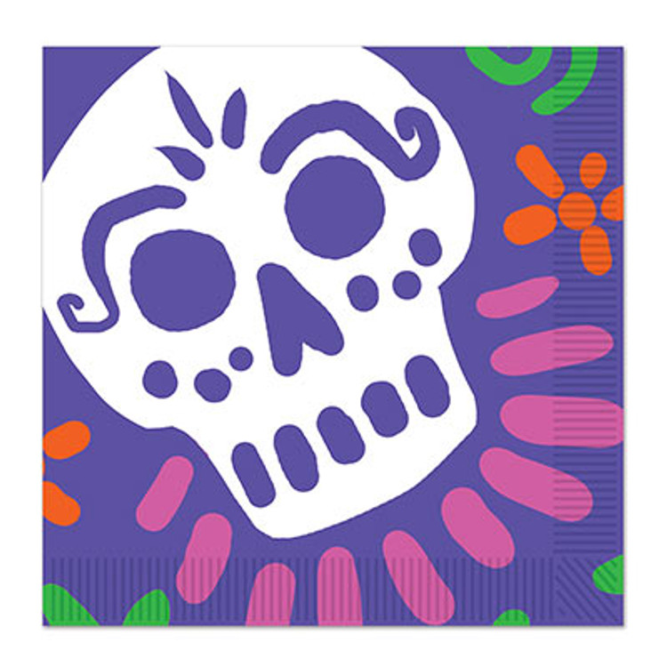 Day of the Dead Napkins Luncheon